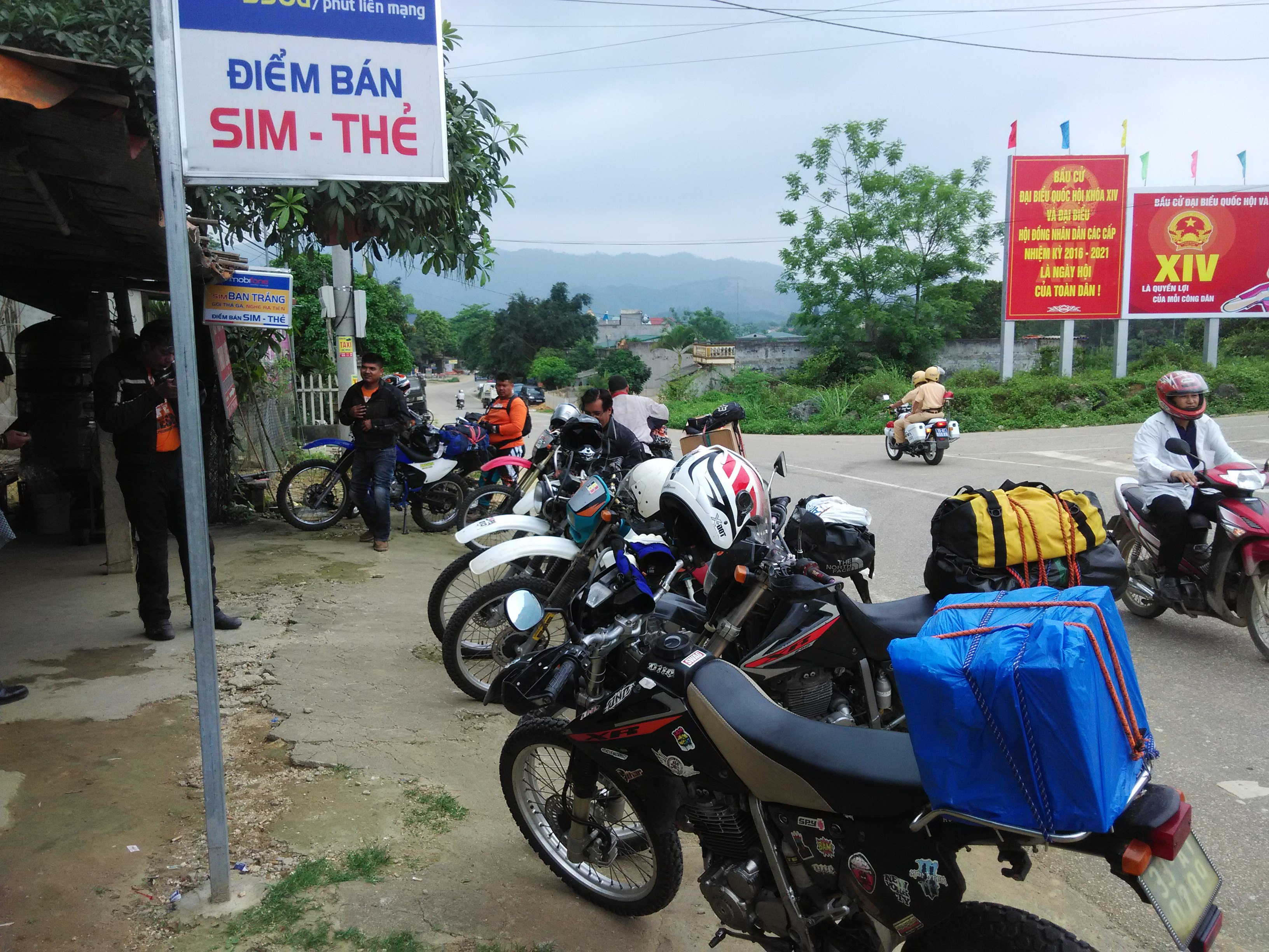 Ho Chi Minh Trail in Laos